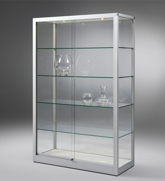 Glasvitrine Vertum - die variable Standvitrine